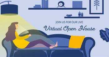 virtual open house instagram landscape  COVID-19 Re-opening