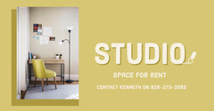 Studio Space For Rent Facebook Advert For Rent Flyer