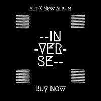 Black and White Inverse Instagram Graphic Album Cover