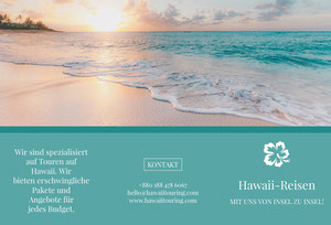 Hawaii touring travel brochures  Web-Seite