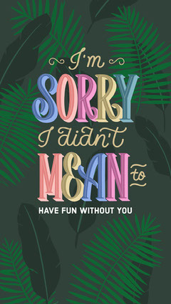 Green and Colorful Funny Apologize Instagram Story Jokes