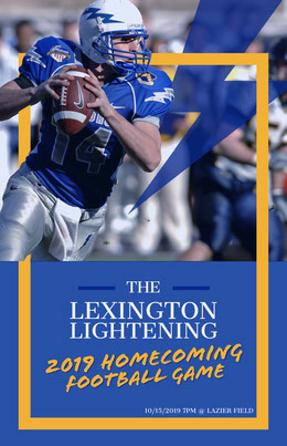 2019 HOMECOMING Flyer