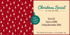 Christmas social eventbrite Event Banner