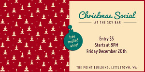 Christmas Social Eventbrite Banner