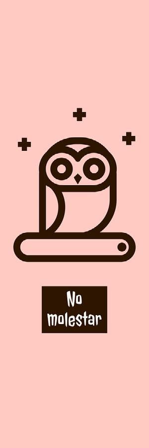 owl cartoon bookmarks  Marcapáginas