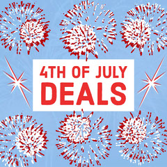 4th  OF JULY<BR>DEALS 4th of July