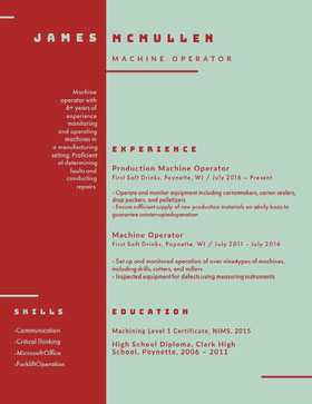 JAMES Creative Resume