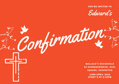 confirmationinvitation Red