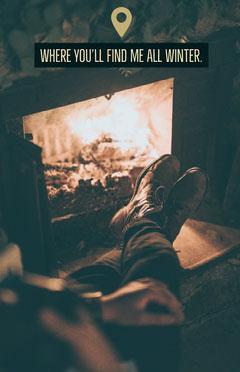 cozy season poster Winter