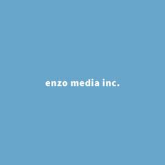 enzo media inc. Typography