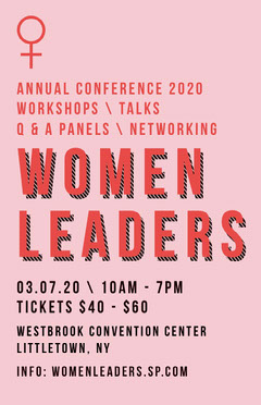 women's leaders conference poster Workshop