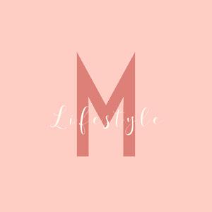 pink white name letter lifestyle logo square Typography Logo