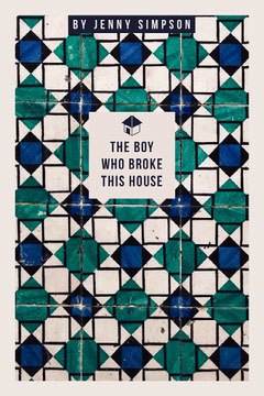 Boy House Tile Book Cover Pattern Design