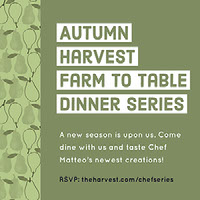 Autumn Harvest Farm to Table Dinner Series E-postinvitasjon
