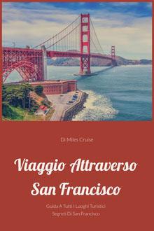 journey through San Francisco book covers Copertina libro