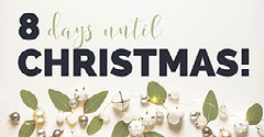 White, Green and Black Christmas Countdown Facebook Banner Countdown