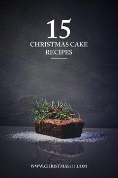 Winter Recipe Cake Pinterest Cakes