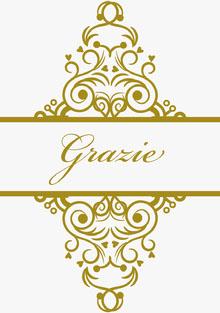 gold embellished wedding thank you cards  Biglietto di ringraziamento per il matrimonio