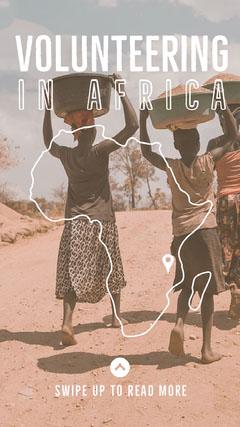 volunteering in africa snapchat geofilter Volunteer