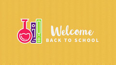 welcome back school Facebook cover Welcome Poster