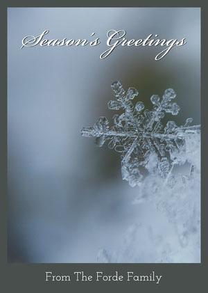 card Weihnachtskarte