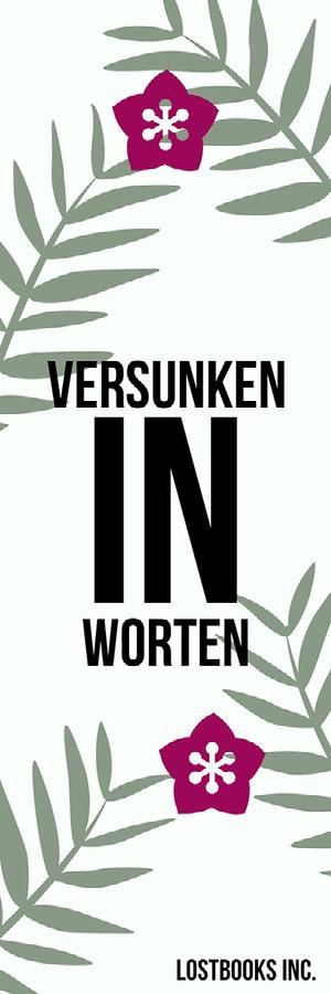 lost in words bookmarks Lesezeichen
