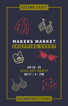 MAKERS MARKET<BR>SHOPPING EVENT Fall