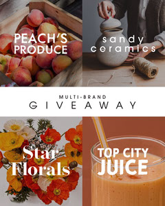 Giveaway Contest Instagram Square Announcement with Collage Juice