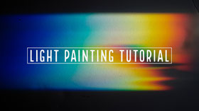 Light Painting Tutorial Youtube Channel Art Banner do YouTube
