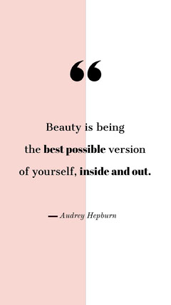 Pink and White Inspirational Beauty Quote Instagram Story Beauty