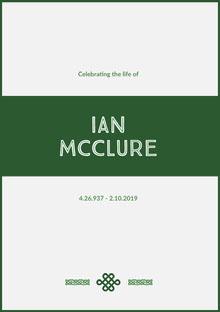 Ian McClure Programa funerario