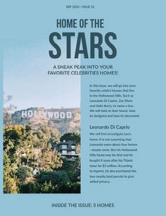 Stars Newsletter Stars