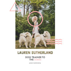 lauren sutherland Dog Flyer