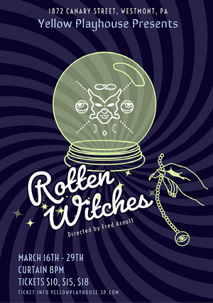 rotten witches play A3 poster A3 Size Posters