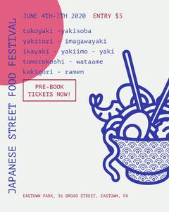 japanese street food festival igportrait Japan