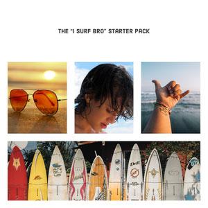 """The """"I surf bro"""" starter pack Meme"""
