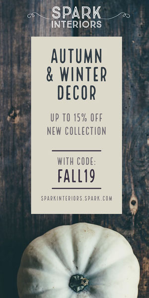 White and Black Autumn and Winter Decoration Advertisement Advertisement Flyer