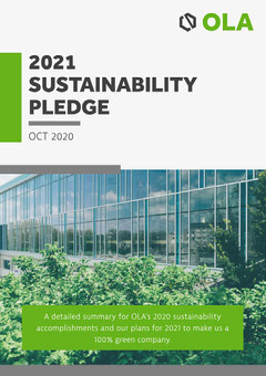 Green Grey & White Sustainability Whitepaper Cover A4 Grey