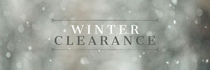 Grey Winter Sale Snow Web Banner 배너