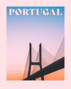 Portugal travel Instagram portrait  Sunset