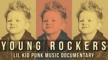 White and Yellow Young Rockers Banner YouTube Image Sizes