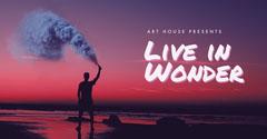 Live in Wonder Art