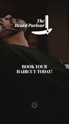 Beard Parlour IG Story Hair Salon