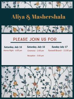 Aliya & Mashershala Farewell