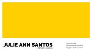 Julie Ann Santos Carte de visite