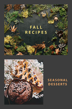 Grey and Green Fall Recipes Pinterest Fall