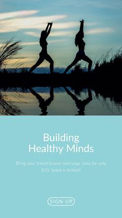 Building Healthy Minds Instagram Social Post Healthy