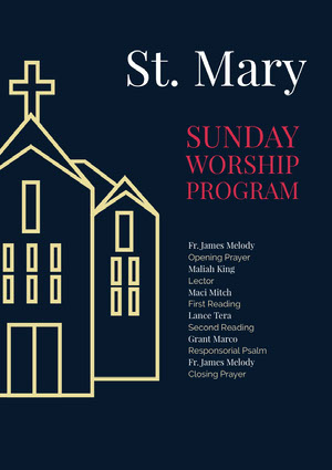 St. Mary Church Flyer