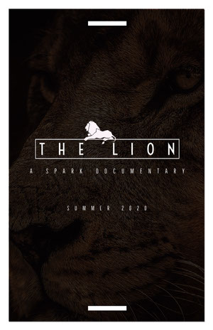THE LION  Poster film