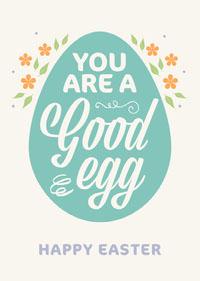 Happy Easter Card Osterkarten-Generator